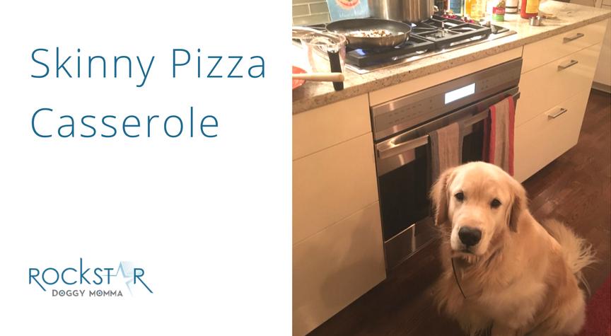 Skinny Pizza Casserole Recipe