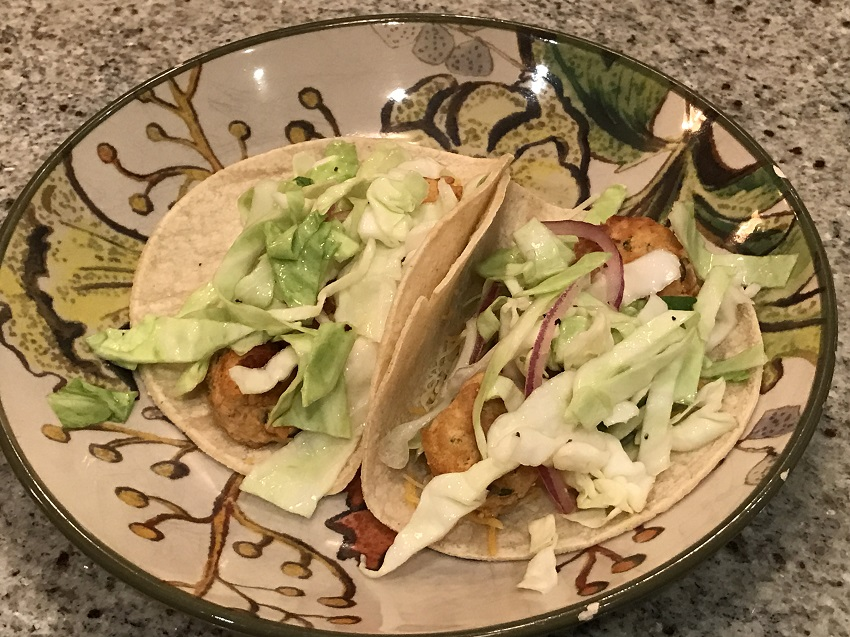 Chipotle Meatball Tacos and Slaw Recipe