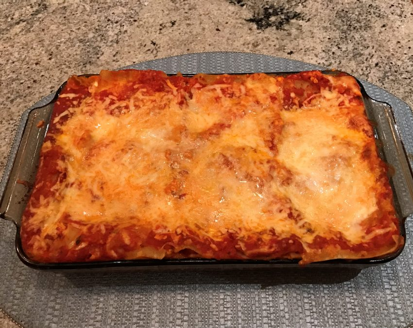Gluten-Free Spinach Turkey Lasagna Recipe