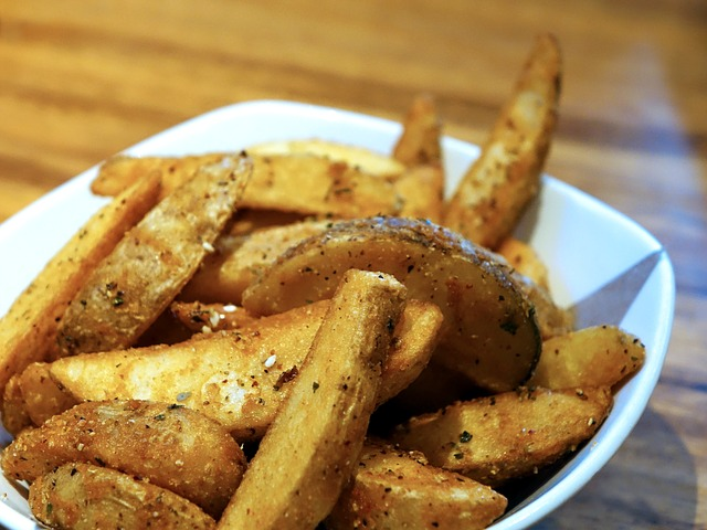 Parmesan Oregano Potato Wedges