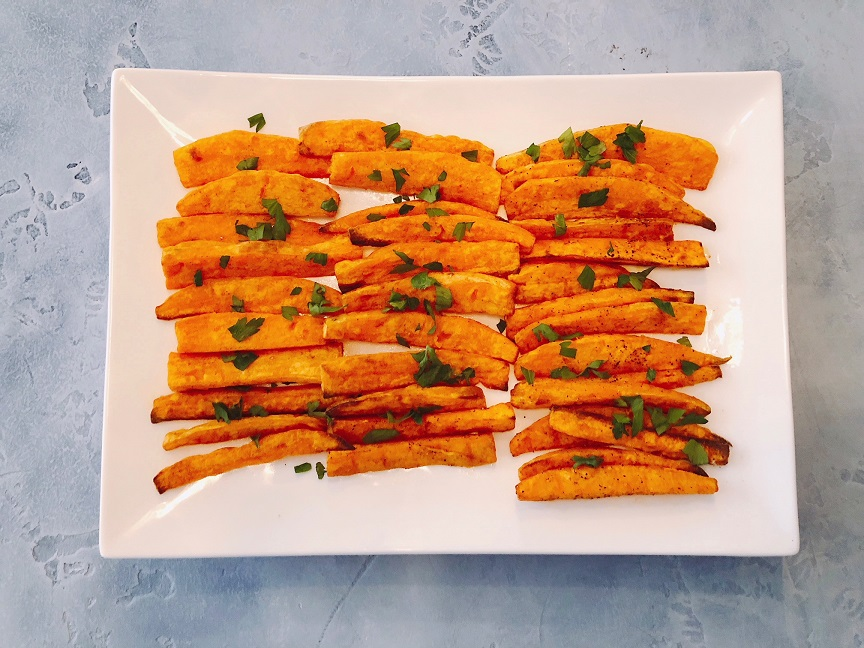 Sweet Paw-Tato Fries Recipe