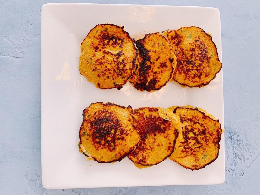 Sweet Pawtato Pancakes