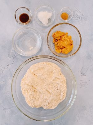 Vanilla Peanut Butter Biscuit Ingredients