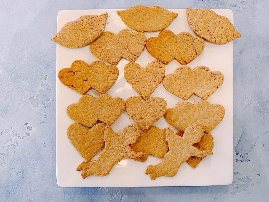 Vanilla Peanut Butter Biscuits